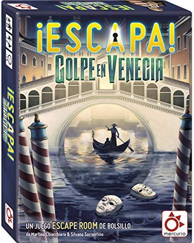 Mercurio Escapa: Golpe en Venecia - Juego de Cartas [Castellano]