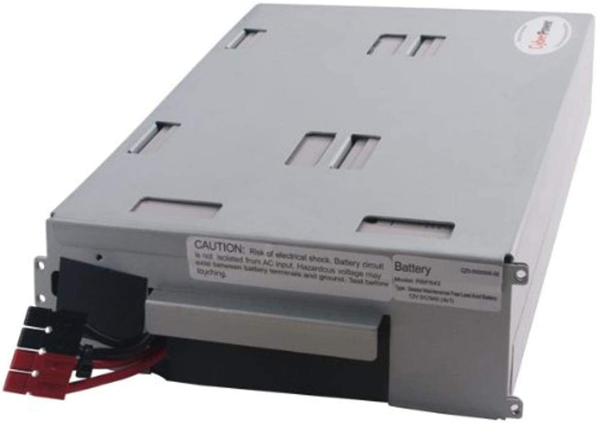 CyberPower RB1290X4C Replacement Battery Cartridge, Maintenance-Free, User Installable