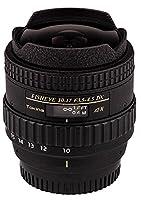 Tokina atxaf107dxn 10–17mm f / 3.5–4.5AF DX Fisheye Lens for NikonデジタルSLR、ブラック