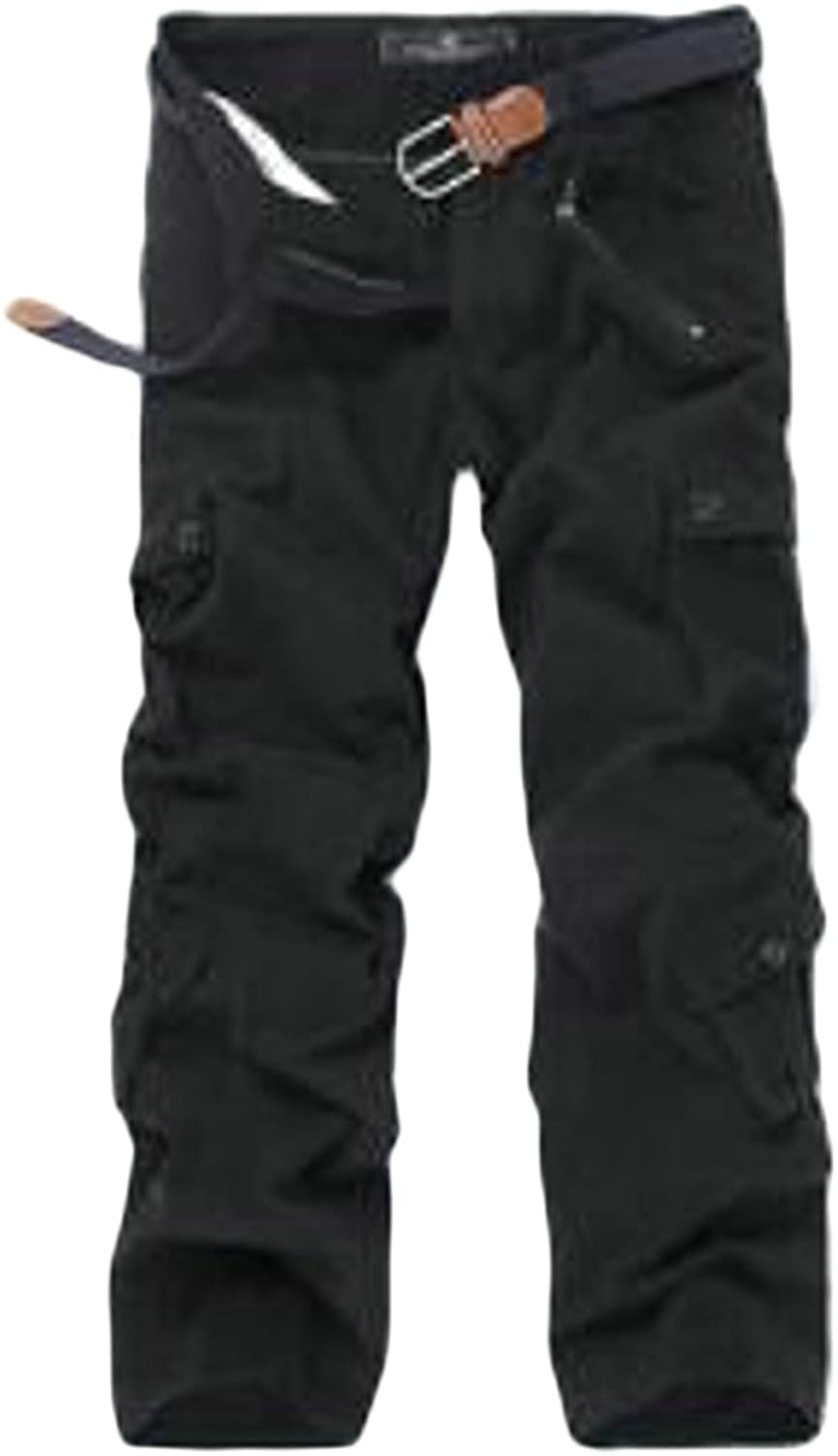 69e0b38f5e03b6 Lutratocro Mens Utility Multi Pocket Big and Tall Tall Tall Regular Cargo  Pants 8b0df7