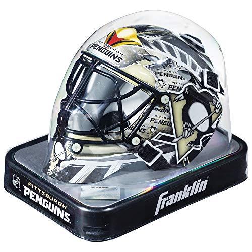 Franklin Sports, Casco da Portiere della NHL League in Miniatura, Unisex, 7784F19, Pittsburgh Penguins
