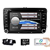 Interface radio stéréo double DIN de 7' pour tableau de bord de voiture avec lecteur DVD système de support multimédia GPS USB SD radio FM AM RDS Bluetooth