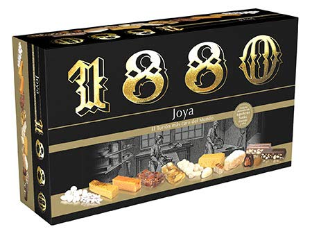 ⭐Pack de turrones 1880 | Turrones Joya 1880 ✓ Mejor sabor turron ¡Regalo NAVIDAD!