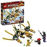 LEGO NINJAGO Le dragon d'or Jeu de construction, 7 Ans et Plus, 171 Pièces  70666