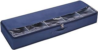Boîte de Rangement vêtement saisonnier sous lit Tissu Oxford Compartiment Spinning Linge Lit Bas Boîte De Rangement Boîte ...
