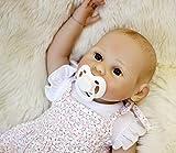 Charmant 18 Pouce 48cm Reborn Poupée Bébé Silicone Complet du Corps Réaliste Fait Main Filles Tétine Aimant Cadeaux de Noël Reborn Doll Toddler Baby