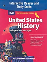 Holt United States History: Interactive Reader Study Guide Grades 6-8 Beginnings to 1914