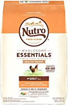 NUTRO WHOLESOME ESSENTIALS Healthy Weight Adult Natural Dry Dog Food for Weight Control Farm-Raised Chicken, Lentils & Sweet Potato Recipe, 30 lb. Bag