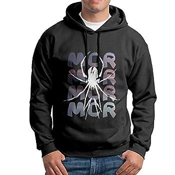 KPaIil My Chemical Romance Pullover Hooded Men s Black Sweatshirt Hoodie