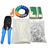 network installation tool kit includes network cable tester