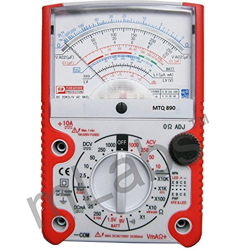 mlabs MetroQ Analogue Multimeter with MTQ 890 Holster