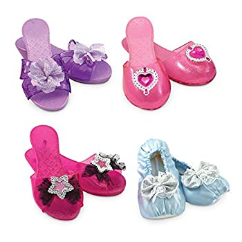 Melissa & Doug Role Play Collection - Step In Style! Dress-Up Shoes Set  4 Pairs