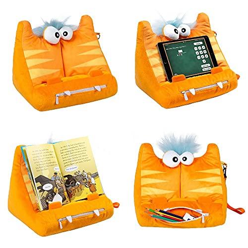BookMonster Deluxe, cojín Atril, Soporte para Libro, iPad, Tablet, eReader - Idea para Regalo Modelo Speggy