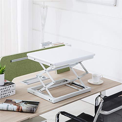 Estaciones de Trabajo de Escritorio Regulable en altura Permanente de escritorio Sentado convertidor de escritorio del monitor del ordenador portátil de elevación de estación de trabajo Altura Ajustab