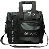 Pyramid Path Deluxe Single Tote - Black/Black