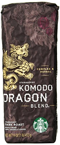 Starbucks Komodo Dragon Blend®, Whole Bean Coffee (1lb)