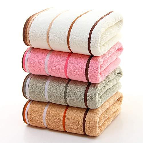 Qrity 4X Toallas de Mano, Juegos de Toallas, Toallas de baño Toallas de baño de algodón Hoja de baño de Lujo para el hogar, los baños, la Piscina y el Gimnasio Algodón de Anillos