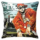 Ben Shapiro Thug Life #49 Bedroom Couch Sofa Throw Pillow Covers Home Decorative Square Pillow Case 18x18 Inch