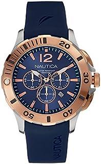 00b976c8 Nautica bfd-101 buceo estilo Chrono de hombre Relojes NAI19506G por Nautica