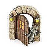 Creativa Figura de dragón para bebé, Abre la Puerta, Bonit
