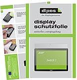dipos I 2X Schutzfolie matt kompatibel mit Acer Switch 3 SW312-31 Folie Bildschirmschutzfolie