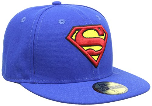New Era Cap Character Basic Superman, Blue, 7 5/8