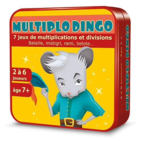 MultiploDingo - Jeux de cartes, Table de Multiplications - Aritma