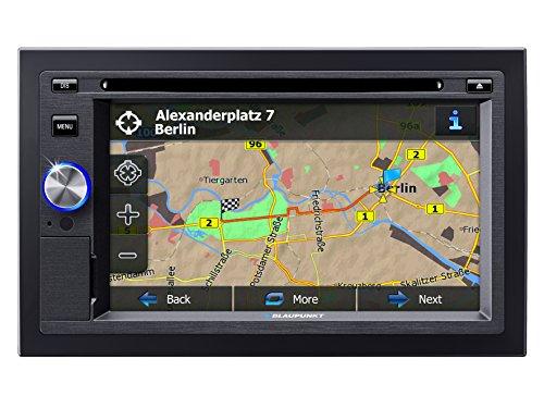 Blaupunkt San Diego 530 - Autoradio Doppel DIN - 2-DIN Navigation mit Touchscreen / Bluetooth / TMC / USB / DVD / 3D