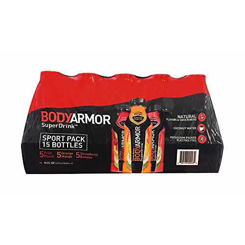 BODY ARMOR Sports Drinks Variety Pack 16 oz bottle