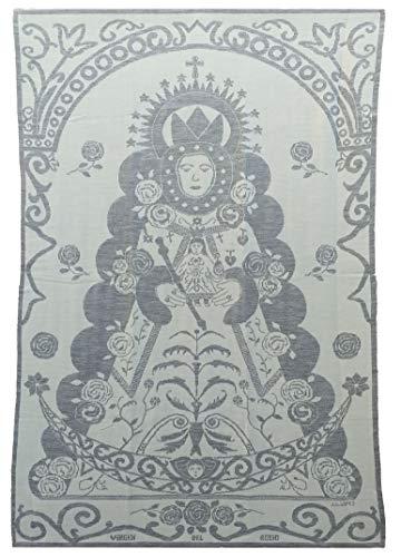 Manta-Arrullo, Imagen Virgen del Rocio, Toda la Familia (Talla Única