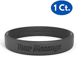 rubber charity bracelets