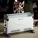 Deuba monzana Konvektor Elektroheizer 2000 W Frostwächter inkl. 24 Std. Timer 3 Heizstufen elektrisch Thermostat Heizer Heizung - 7
