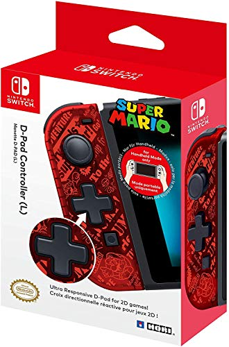 Hori - Controlador D-Pad L Super Mario Nintendo Switch
