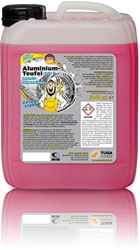TUGA Aluminium Teufel Felgenreiniger Intensiv, 5 Kg Kanne