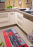 Andiamo 282565 Teppichläufer Küchenläufer Hot Pepper, Chili Schote, 67 x 200 cm, rot - 4