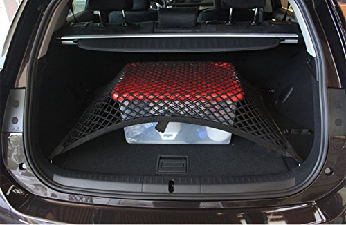 Topmat Pegasuss Custom fit High Elastic Floor Style Rear Trunk Storage Luggage Net for BMW X4