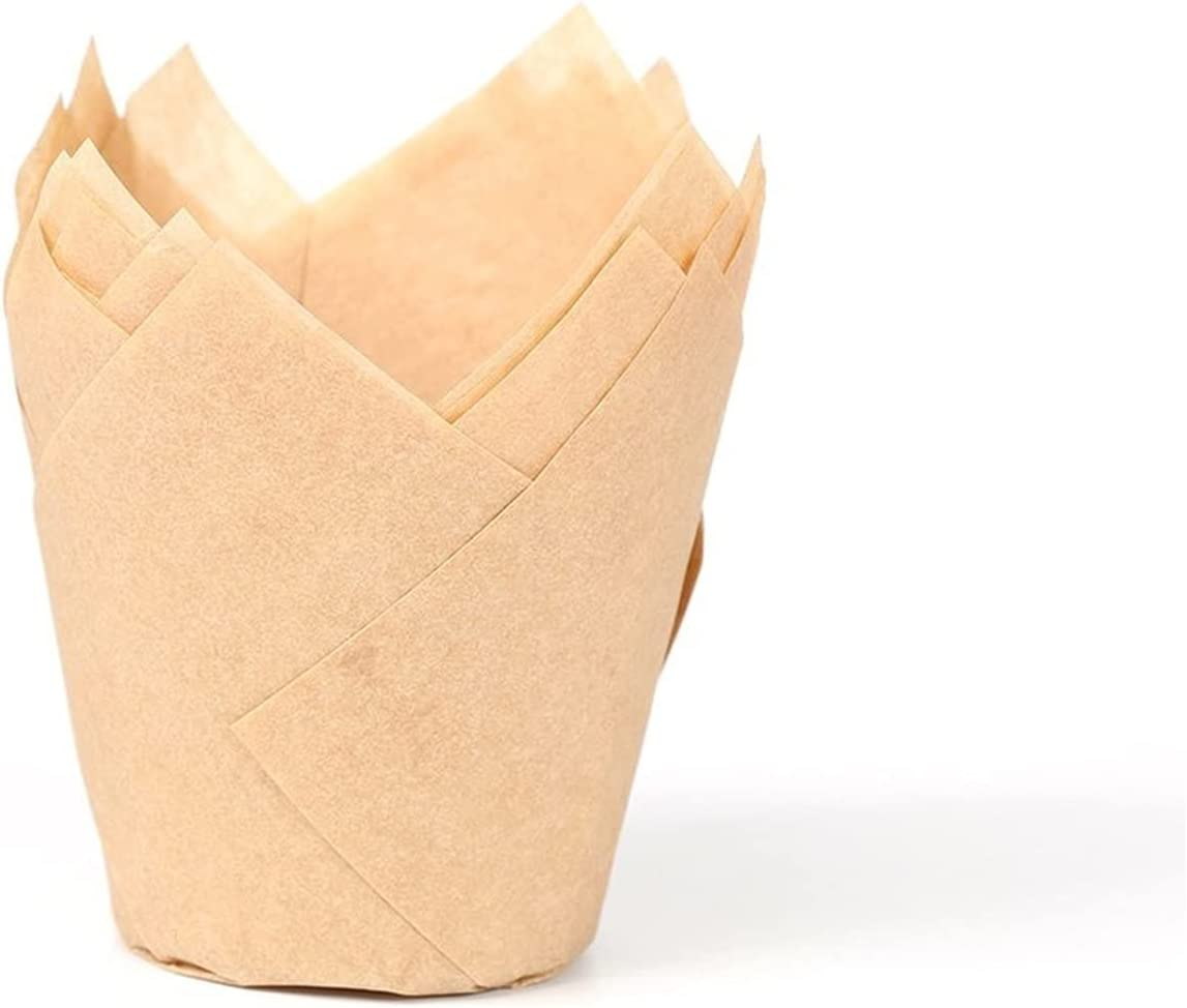 LQHZ Pastry Cup 100PCS Muffin Cupcake Paper Forms Max 50% OFF Cupc Atlanta Mall Cups Cake
