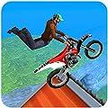 Extreme Motorcycle Stunt tricks game 2018 : City Motocross bmx rider fever 3d simulator games free rush driver drag hill climb trick trials flight jump 2019