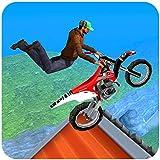 Extreme Motorcycle Stunt tricks game 2018 :Ciudad Motocross bmx jinete fiebre juegos de simulador 3d rush accidente conductor arrastre colina subir truco ensayos vuelo salto 2019