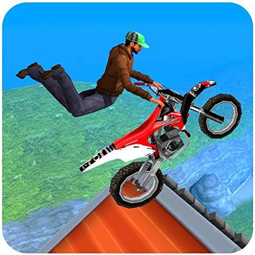 Extreme Motorcycle Stunt tricks game 2018 : City Motocross BMX Fahrer Fieber 3D-Simulator-Spiele freie Eile Fahrer Drag Hill Steig Trick Versuche Flugsprung 2019