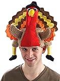 Forum Novelties Men's Novelty Turkey Hat, Multi, One Size