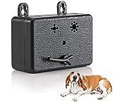XIAXIA 2021 Anti-Bell Gerät Antibellhalsband Sicher Hundetrainingsgerät Abschreckung Antibellen, Wiederaufladbarer Erziehungshalsband Hundebellen Abschreckung, Halsband Hundetraining