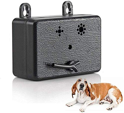 2021 Anti-Bell Gerät Antibellhalsband Sicher Hundetrainingsgerät Abschreckung Antibellen, Wiederaufladbarer Erziehungshalsband Hundebellen Abschreckung, Halsband Hundetraining
