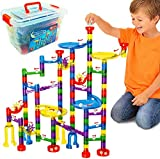 Marble Mania 162 Piece Marble Run For Kids - Construction Toy For Boys or Girls Aged 4 Years +