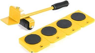 Meubilair Sliders, 5 Stks/set Gemakkelijk Meubilair Lifter Mover Tool Set Meubelschuifregelaar Heavy Duty Meubelrol Verpla...