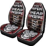 walking dead car seat covers - Muggalicious Don't Open Dead Inside Zombie Walking Dead Universal Seat Cover Set