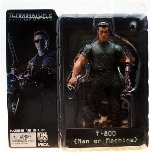Unbekannt Terminator T-800 mit Pistole und offenem linkem Endoskeleton-Arm