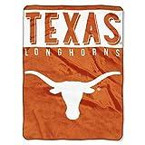 The Northwest Company Texas Longhorns 'Basic' Raschel Throw Blanket, 60' x 80' , Orange