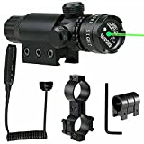 ATIN Verde rojo táctico del punto de la vista del laser del alcance para la caza de la pistola del rifle del arma del airsoft