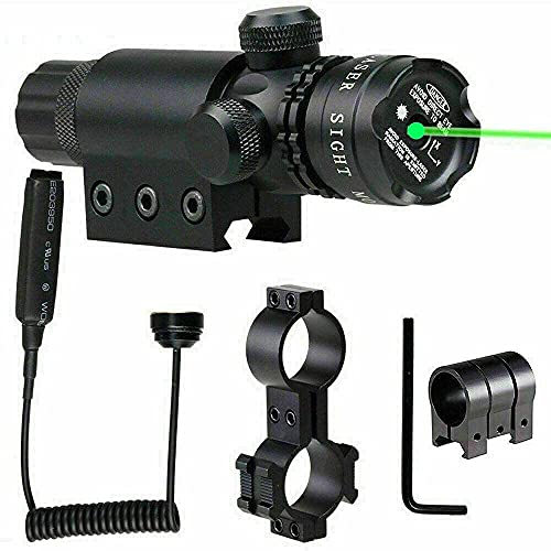 ATIN Tactical Scope Laser Sight Dot Red Green For Airsoft Gun Rifle Pistol...